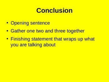 Writing an Introductory Paragraph and Article for Visual Learners
