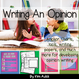Writer's Workshop: Writing an Opinion by Kim Adsit aligned