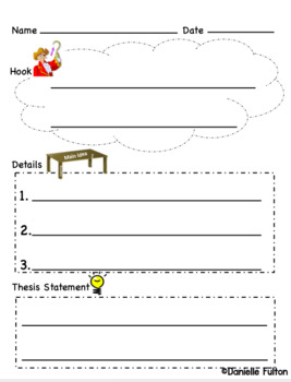 Writing an essay introduction FREEBIE with visuals