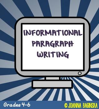 Informational paragraph writing