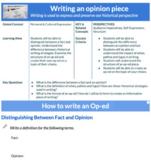 Writing an op-ed (opinionated piece)
