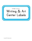 Writing and Art Center Labels