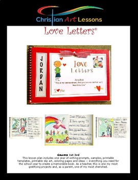 Year Long Writing and Art Project - Create a keepsake book of Love Letters.