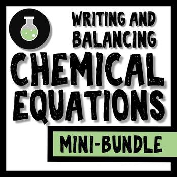 Chemical Equations Bundle