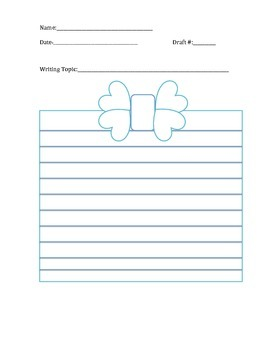 Writing and Brainstorming Template