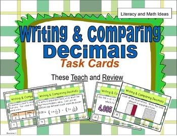 Writing and Comparing Decimals