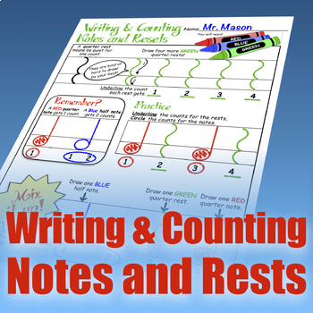 Writing and Counting Notes & Rests