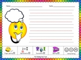 Writing and Drawing Activity with Simple Assessment Tool