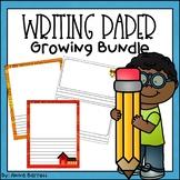 Writing and Drawing Paper *Growing* Mega Bundle