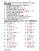 Writing and Evaluating Expressions Worksheet