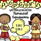 Writing and Evaluating Numerical Expressions