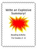 Writing and Explosive Summary (Nonfiction)