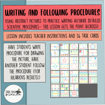 Scientific Method: Writing and Following Scientific Procedures