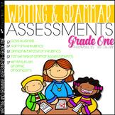 Writing Assessment and Grammar Assessment 1st Grade