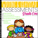 Writing Assessment and Grammar Assessment 1st Grade