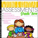 Writing Assessment and Grammar Assessment 2nd Grade