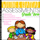 Writing Assessment and Grammar Assessment 2nd Grade