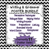Writing and Grammar Poster BUNDLE