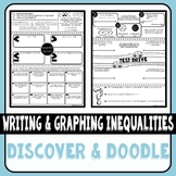 Writing and Graphing Inequalities Discover & Doodle