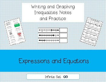 Writing and Graphing Inequalities Interactive Notes and Practice