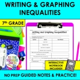 Writing and Graphing Inequalities Notes