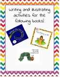 Writing and Illustrating activities