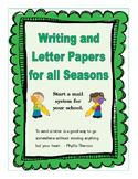 Writing and Letter Papers for the Year.