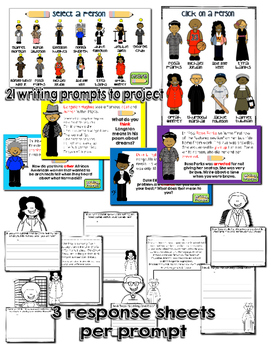 Writing and Literacy Bundle: Black History