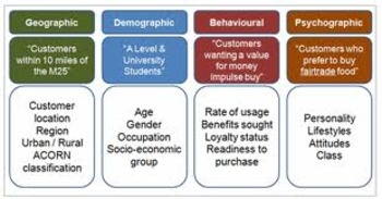 Writing and Literacy Prompt: Marketing Segmentation