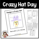 Writing and Math Activities for Crazy Hat Day