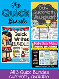 Quick Write and Quick Math Bundle