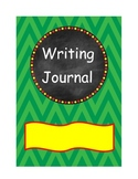 Writing and Math Journal Covers