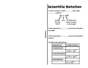 Writing and Operating in Scientific Notation for Interactive Notebooks