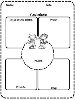 Readers Response Spanish