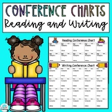 Writing and Reading Conference Charts