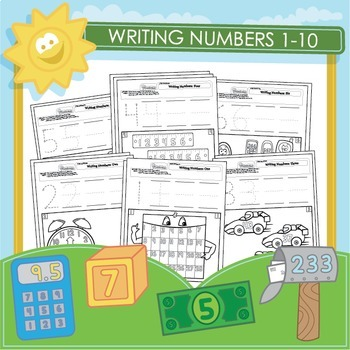 Writing and Recognizing Numbers 1-10