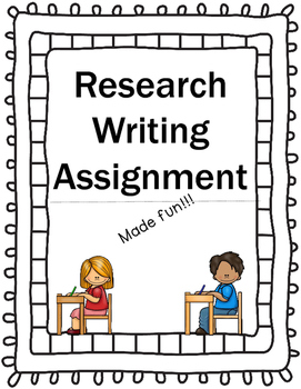 Free Research Writing Assignment