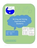Writing and Solving Equations with Geometry