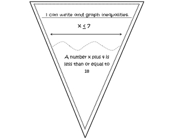 Writing and Solving Inequalities Pennant