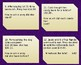 Writing and Solving One-Step Equations Task Cards