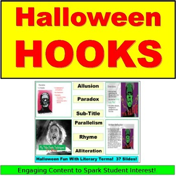 Halloween Hooks: Alliteration, Allusion, Rhyme and More!