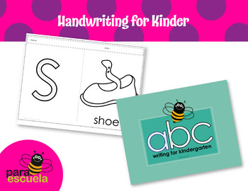 Alphabetical writing and coloring workbook -English