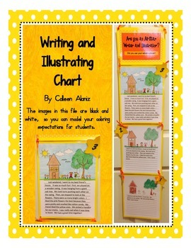 Writing and illustrating Chart (UK Version)