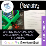 Writing balancing and Catergorizing chemical Equations