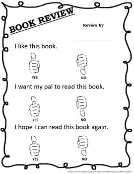 Writing book reviews