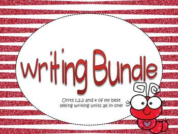 Writing bundle- ALL 4 units-teaching writing with creativity and thought series