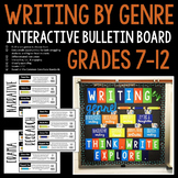 Writing by Genre Interactive Bulletin Board: Grades 7-12