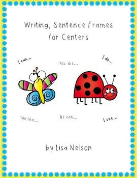 Writing center: Finish the sentence set #1