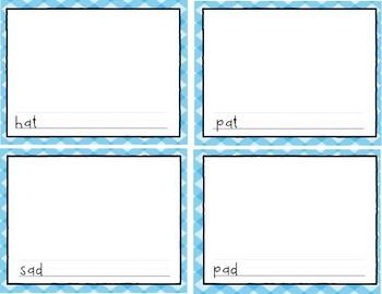 Writing center: Illustration cards