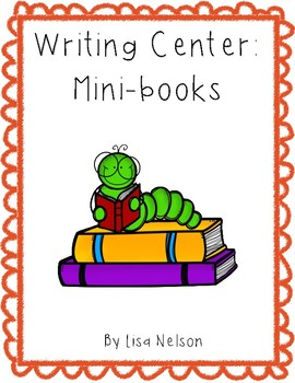Writing center: mini-books